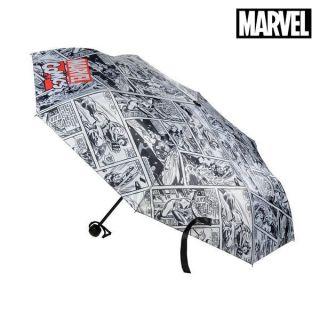 Paraguas Plegable The Avengers Gris (ø 53 cm)