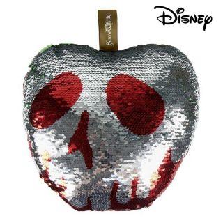 Cojín Sirena Mágica de Lentejuelas Princesses Disney 74494 Rojo (30 X 30 cm)