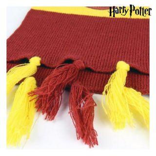 Bufanda Gryffindor Harry Potter Rojo