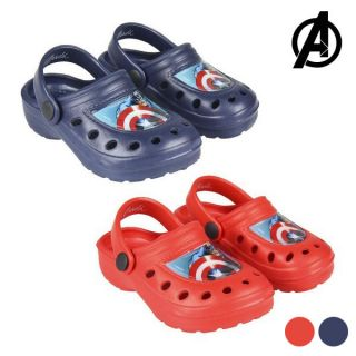 Zuecos de Playa The Avengers Color Azul Marino Talla Calzado 27