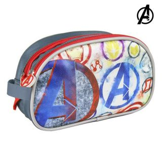 Neceser Escolar The Avengers Gris