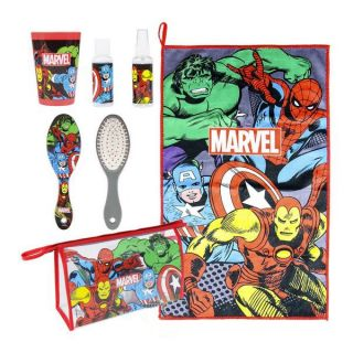 Neceser Escolar The Avengers (6 pcs) Multicolor
