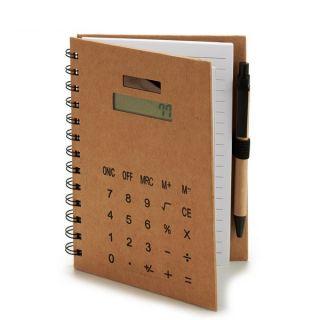 Cuaderno de Notas Pincello (14 x 18 x 1,5 cm) Calculadora