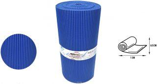 Alfombra Antideslizante Azul Oscuro Tapeta Antideslizante 65CM * 15M