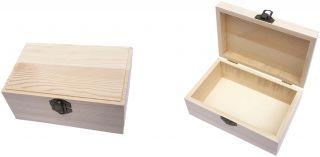 Caja de Madera de Pino Caja Madera para Accesorios