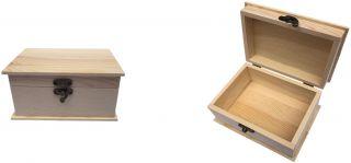 Caja Pino Mediana Caja Madera para Accesorios