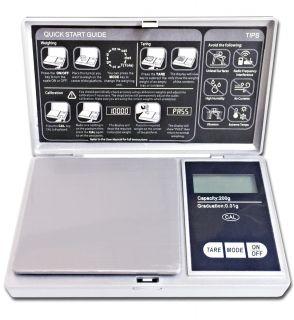 Báscula Electrónica Peso Gramo 200G / 0.01G Balanza Digital de Precisión con Tara