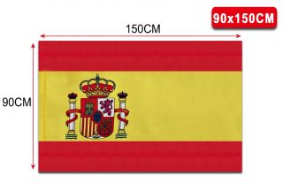 Bandera de España 90 * 150 cm