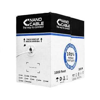 Cable de Red Rígido FTP Categoría 5e NANOCABLE 10.20.0704 305 m