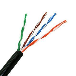 Cable de Red Rígido UTP Categoría 5e NANOCABLE 10.20.0304-EXT-BK 305 m Negro