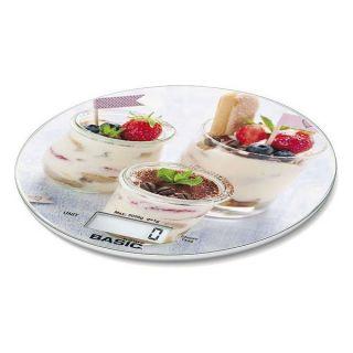 Báscula Digital de Cocina Basic Home 5 k LCD