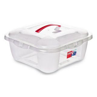 Caja de Almacenaje con Tapa Confortime 15 L