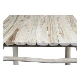 Mesa (110 x 70 x 70 cm) Madera de teca