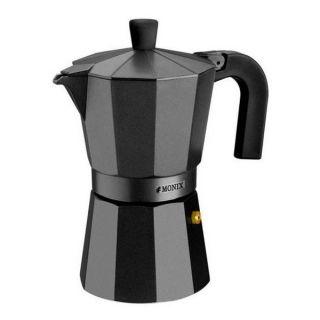 Cafetera Italiana Monix M640003 (3 tazas) Aluminio