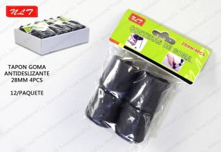 Tapon Goma Antideslizante 4Pcs 28MM