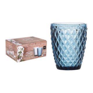Vaso de Cristal La Mediterránea Sidari (270 ml) Color Azul