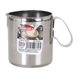 Lechera Privilege Metal Capacidad 625 cc
