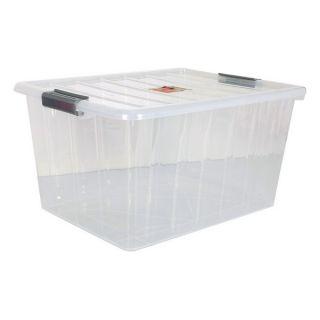 Caja de Almacenaje con Tapa 50 L