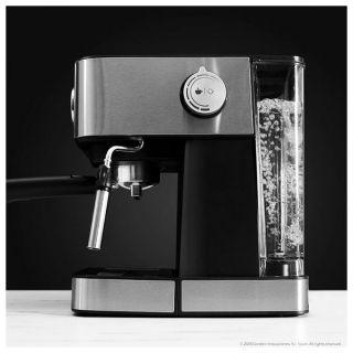 Cafetera Express de Brazo Cecotec Power Espresso 20 Professionale 1,5 L Plateado Negro