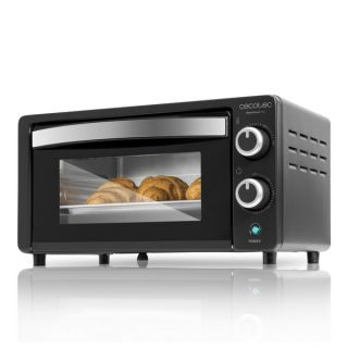 Mini Horno Eléctrico Cecotec Bake'n Toast 1000W Color Blanco