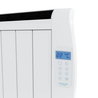 Emisor Térmico Digital (4 cuerpos) Cecotec Ready Warm 800 Thermal 600W Blanco