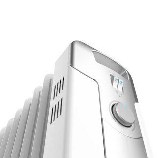 Radiador de Aceite (11 cuerpos) Cecotec Ready Warm 5700 Space 2500W Blanco