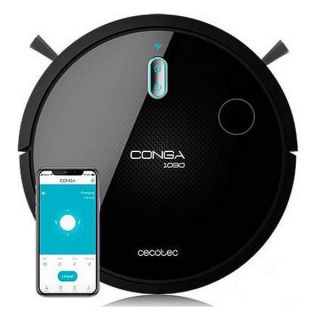 Robot Aspirador Cecotec Conga 1090 Connected 1400 Pa 64 dB WiFi Negro