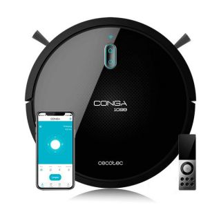 Robot Aspirador Cecotec Conga 1099 Connected 1400 Pa 64 dB WiFi Negro