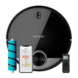 Robot Aspirador Cecotec Conga 3790 2300 Pa 3200 mAh WiFi Negro