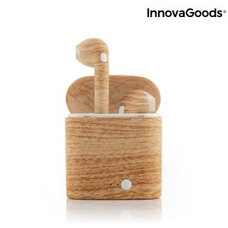 Auriculares Inalámbricos Smartpods W Wood Innovagoods