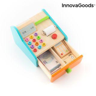 Caja Registradora de Madera con Accesorios Kashy InnovaGoods