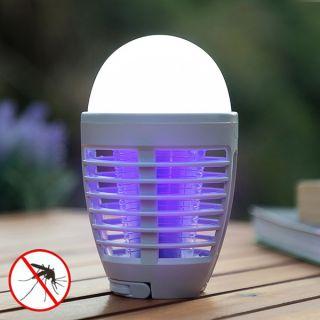 Lámpara Antimosquitos Recargable con LED 2 en 1 KL Bulb InnovaGoods