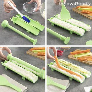 Set de Sushi con Recetas Suzooka InnovaGoods 3 Piezas