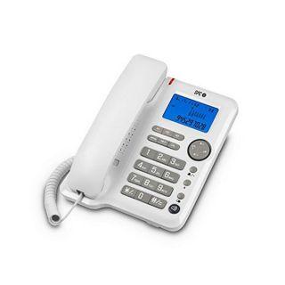 Teléfono Fijo SPC 3608B LCD Blanco