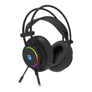 Auriculares con Micrófono Gaming CoolBox DG-AUR-01 Negro