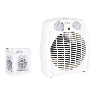 Calefactor Portátil Kiwi KHT-8411 2000W Blanco