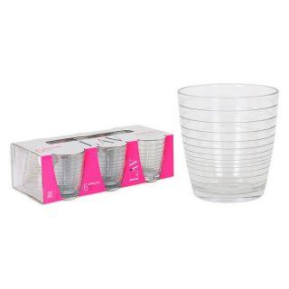 Set de Vasos LAV Apollon 270 ml Cristal (Pack de 6)