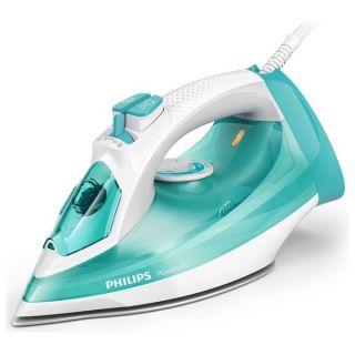 Plancha de Vapor Philips GC2992/70 320 ml 2300W Azul Vapor vertical Control deslizante Calc-Clean
