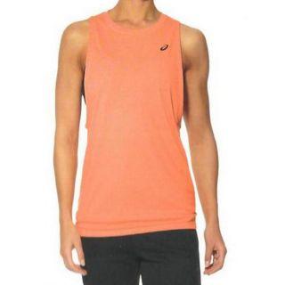 Camiseta para Hombre sin Mangas Asics Gpx Loose Slvless Naranja Talla M