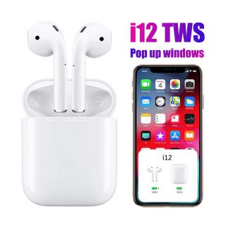 Auriculares Inalambricos I12 TWS Bluetooth 5.0 + EDR/BLE Pop-up Ventana Emergente