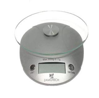 Balanza Digital Cocina Bascula Peso de 1 Grs a 3 Kg Blanco Accesorios Cocina