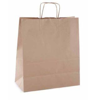 Paquete 50 Bolsas Kraft Apli - 24*11*31 - Gramaje 100 G/Cm2 - Marrón