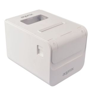 Impresora de Tickets Térmica Approx Apppos80Amusewh - 250Mm/S - Papel 80Mm - Corte Automático - Usb - Lan - Rs232 - Rj11 para Cajón Portamonedas