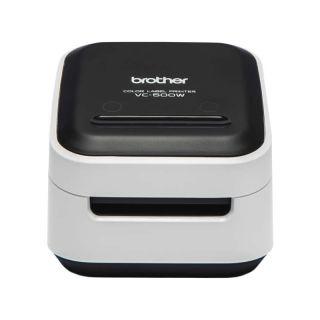 Impresora de Etiquetas Color Brother Wifi Vc-500W - Tecnología Zero Ink - 8Mm/S - Ancho Máximo Etiqueta 50Mm - Software Diseño P-Touch Editor