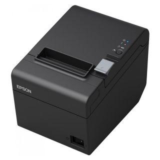 Impresora de Tickets Térmica Epson Tm-T20Iii C31Ch51012 Negra - Velocidad 250Mm/S - Caracteres Ank - Ethernet - Apertura de Cajón