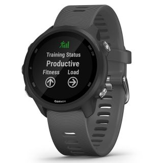 Reloj Deportivo Con Gps Garmin Forerunner 245 Gris - Pantalla Color 3.04Cm - Sensor Frecuencia Cardiaca - Pulsioximetro - 5Atm - Notificaciones