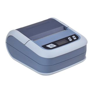 Impresora Térmica Portátil Ilp-80 Gris - Bluetooth - 72Mm - 70Mm/S - Usb - Batería 2500Mah - Windows/Android/Ios - Funda Incluida
