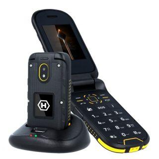 Teléfono Móvil Ruggerizado Hammer Bow+/ Negro