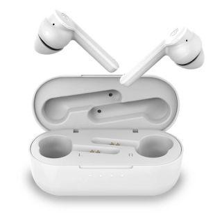 Auriculares Bluetooth Hiditec Vesta con Estuche de Carga/ Autonomía 24h / Blanco