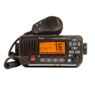 Emisora Vhf Icom Ic-m330ge, Dsc, Clase 'd',  Ipx7, Gps Incorporado, Tamaño Reducido